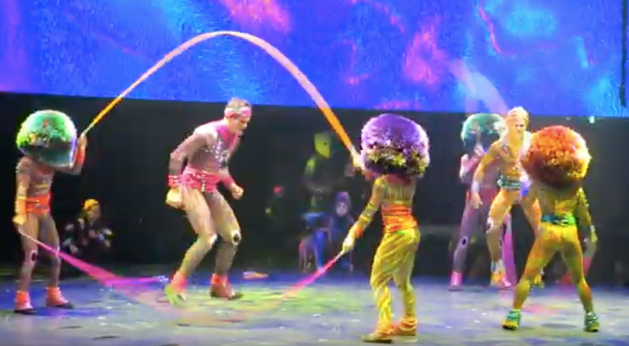 See my exclusive video of the new Cirque du Soleil at Sea shows on MSC Bellissima